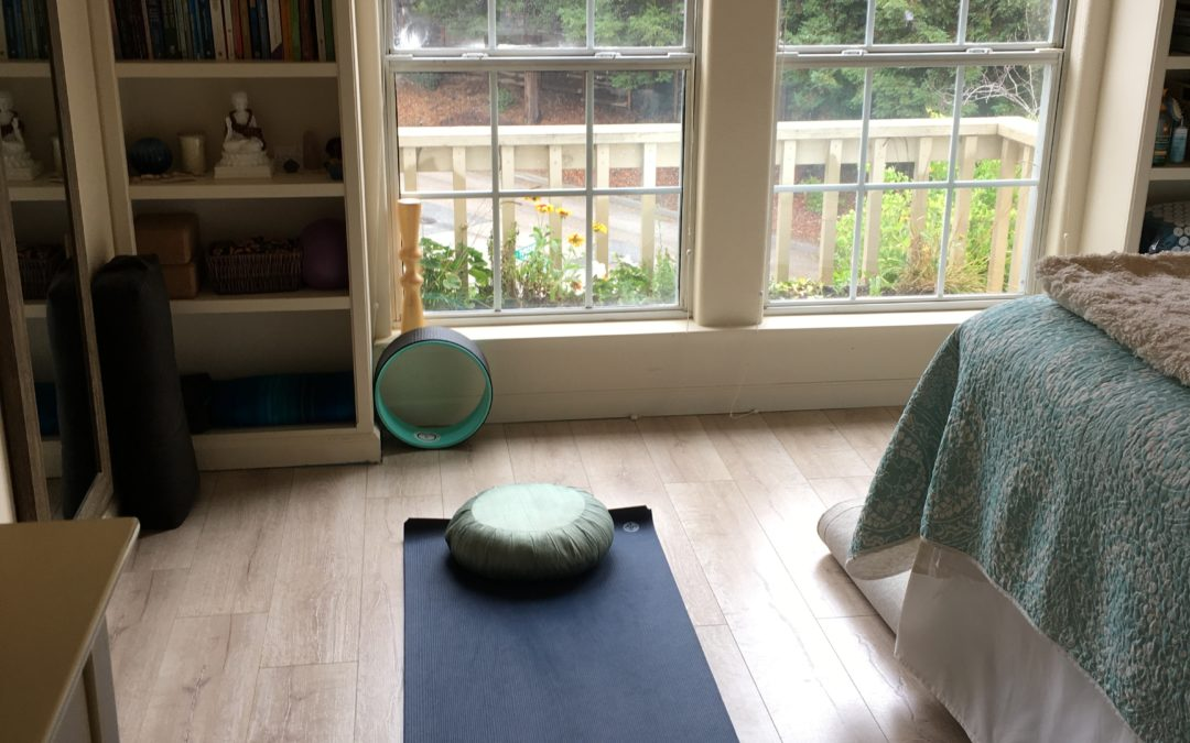Try This 3-Step Plan for a Warm and Inviting Home Yoga Practice Space